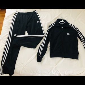 Adidas women's track suit both pants and top